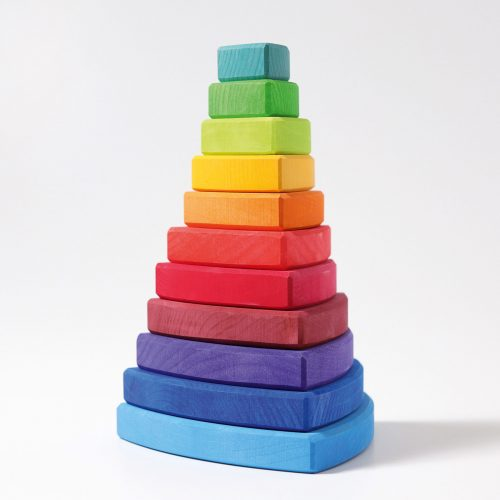 Grimms Triangular Stacking Tower