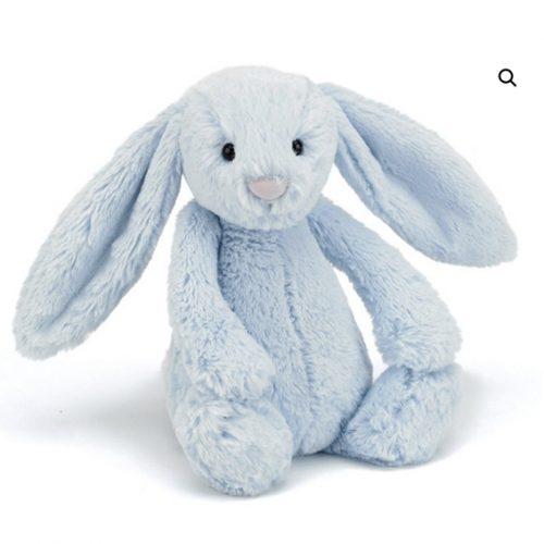 Bashful Bunny Blue Medium