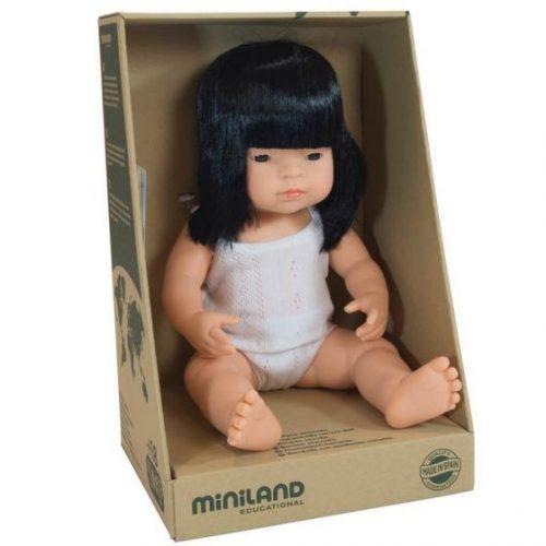 Miniland 38cm Female Asian Doll