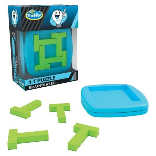 Brainteaser 4-T Puzzle