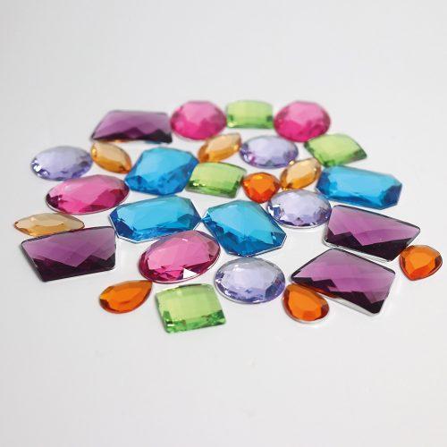 Grimms Glitter Stones 28pce