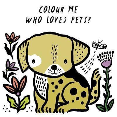 Bath Book: Who Loves Pets?