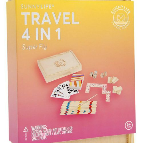 4 in 1 Travel Game