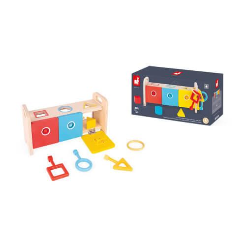 Shape Box with Keys