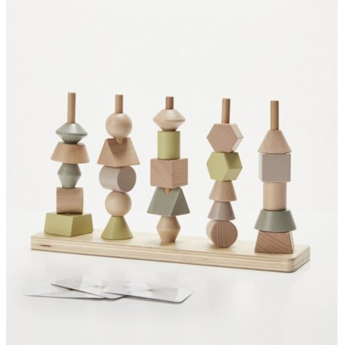 Astrup Wooden Stacking Tower
