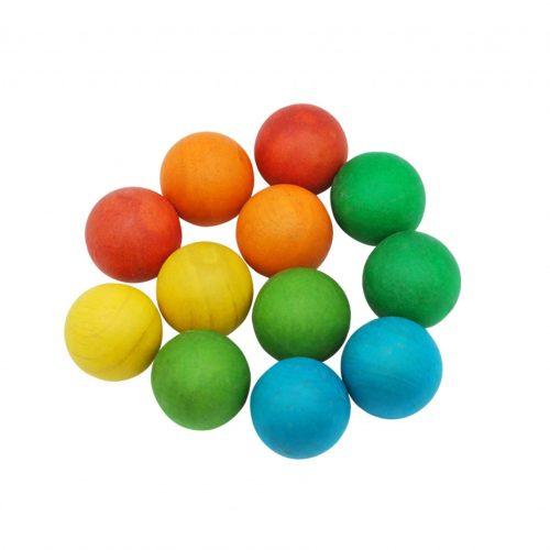 QToys Coloured Balls Set of 12