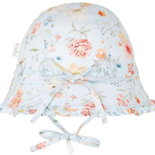 Toshi Bell Hat Secret Garden Sky
