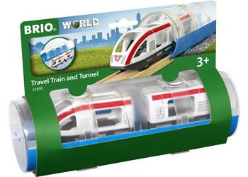 Brio Train Travel and Tunnel