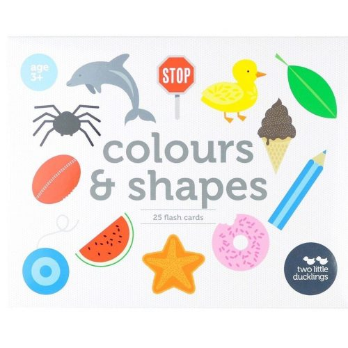 TLD Colours and Shapes Flash Cards