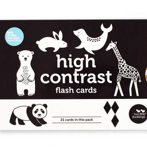 TLD High Contrast Flash Cards