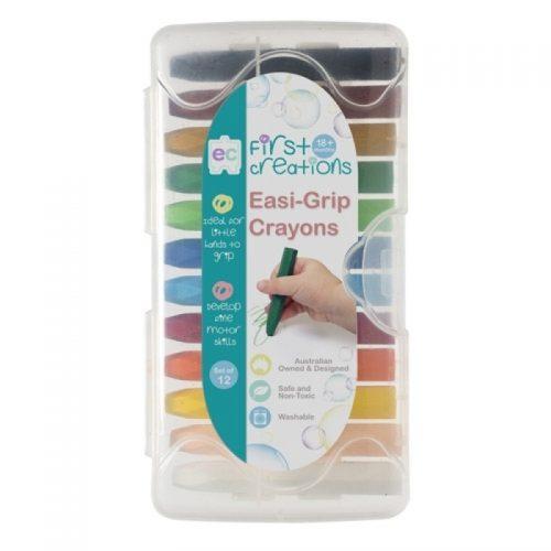 Easi Grip Crayons 12pk