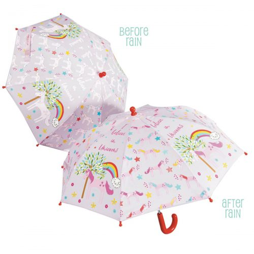 Colour Changing Umbrella - Fairy Unicorn