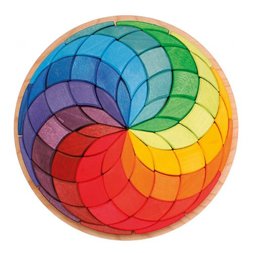 Grimms Coloured Circle Spiral
