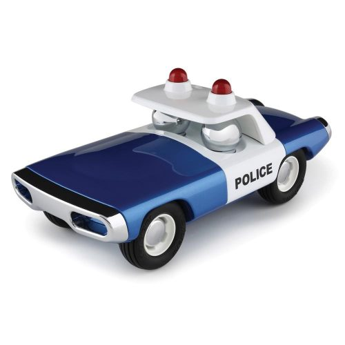 Playforever Heat Police Blue Car