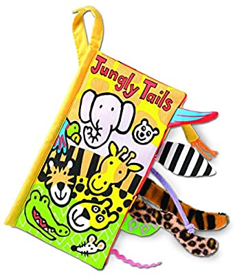 Soft Book Jungly Tails