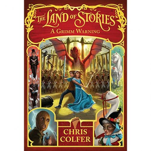 The Land of Stories Bk 3: A Grimm Warning