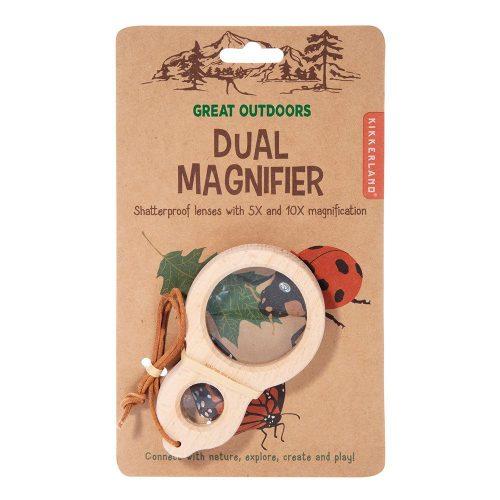 Kikkerland Dual Magnifier