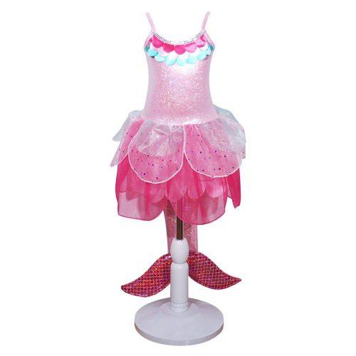Essentials Mermaid Fairy Dress Pink Size 3-4
