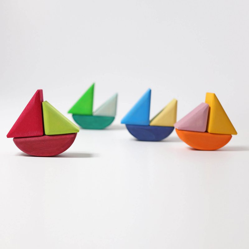 Grimms Mini Rolling Boats