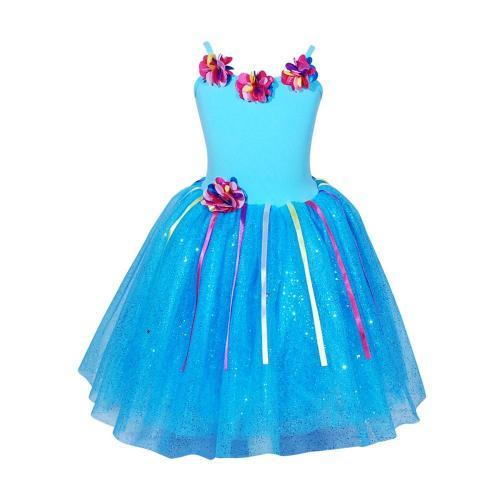 Floral Petal Dress Size 3-4