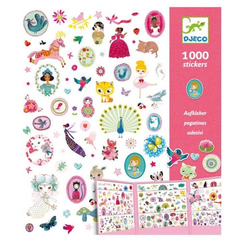 1000 Pink Stickers