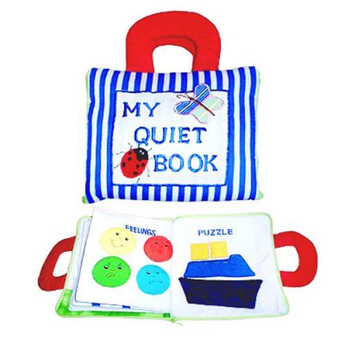 My Quiet Book Blue Stripe