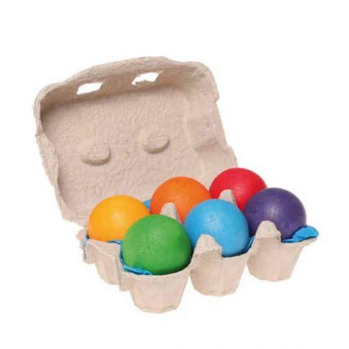 Grimms 6 Coloured Balls