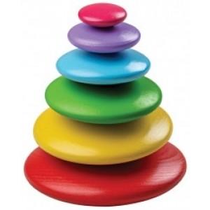 Stacking Pebbles - Rainbow