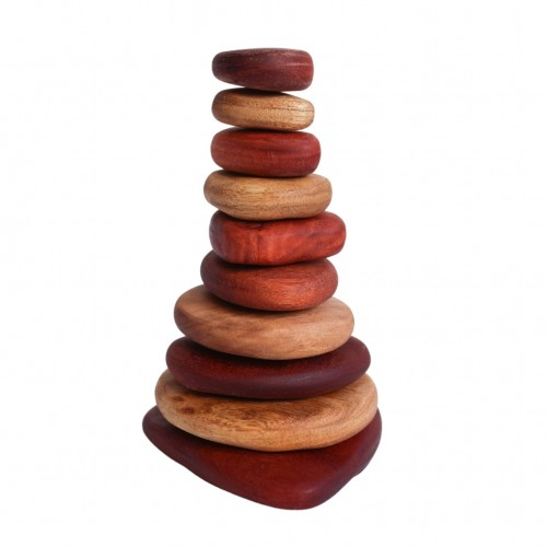 In Wood Stacking Stones