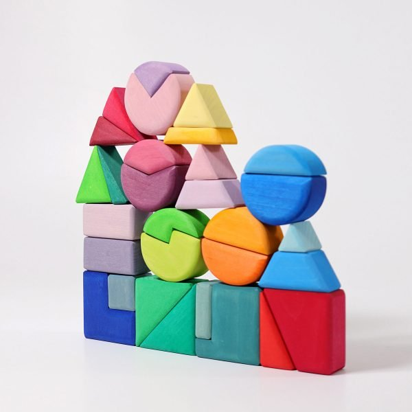 Grimms Triangle, Square, Circle Blocks