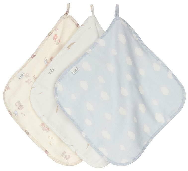 Toshi Washcloth Hillbilly Set of 3