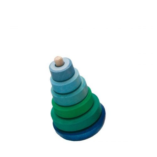 Grimms Wobbly Conical Tower Blue