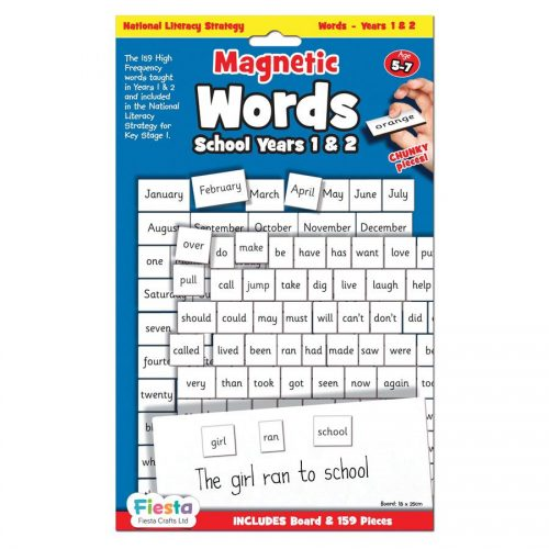 Magnetic First Words Yrs 1-2